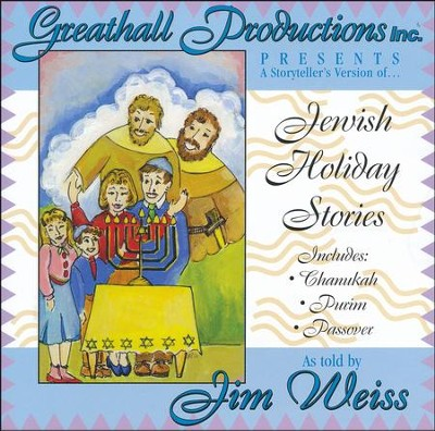 Jewish Holiday Stories  -     Narrated By: Jim Weiss