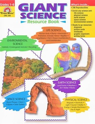 Giant Science Resource Book Grades 1-6   -