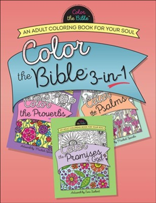Color The Bibletrade 3 In 1 Adult Coloring Book Proverbs Psalms