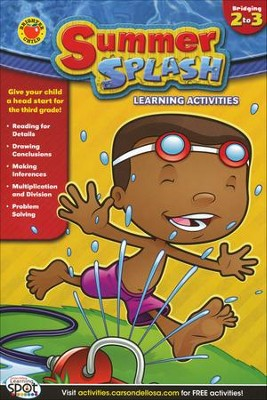 Summer Splash Learning Activities Grade 2-3   -