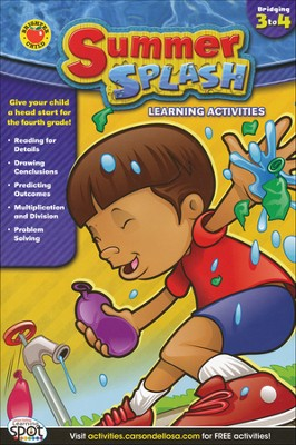 Summer Splash Learning Activities Grade 3-4   -