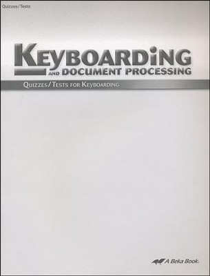 Keyboarding Quizzes & Tests   -