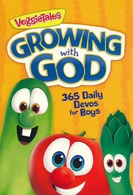 Growing with God: 365 Daily Devos for Boys  -