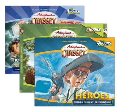 Adventures in Odyssey Episodes 1-3 CD Set   -