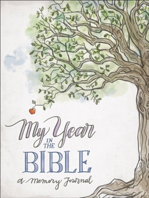 My Year in the Bible: A Memory Journal  -     By: Harvest House Publishers