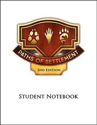 Paths of Settlement Grade 5 Student Notebook Pages (6 Units; 2nd Edition)  -