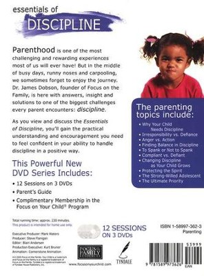 Your Child: Essentials of Discipline, DVD Parenting Seminar  -     By: Dr. James Dobson