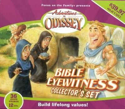 Adventures in Odyssey ® Bible Eyewitness Collector's Set  -     By: Focus on the Family