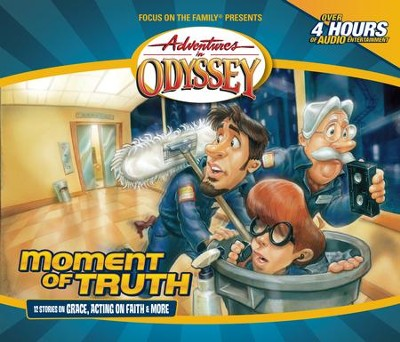 Adventures in Odyssey® 611: The Top Floor Part 1 of 3  [Download] -