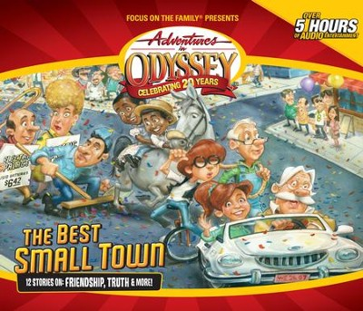 Adventures in Odyssey® 631: A Capsule Comes to Town   [Download] -