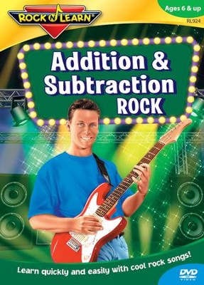 Addition & Subtraction Rock DVD   -