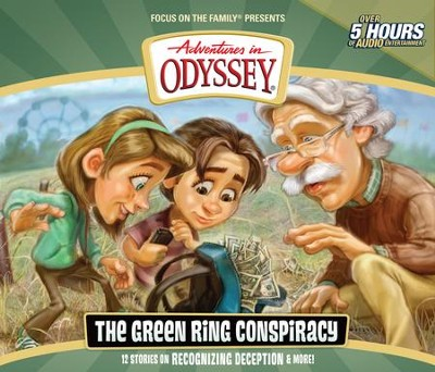 Adventures in Odyssey ® #53: The Green Ring Conspiracy  -     By: AIO Team