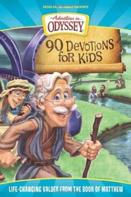 90 Devotions for Kids: Life-Changing Values from the Book of Matthew  -