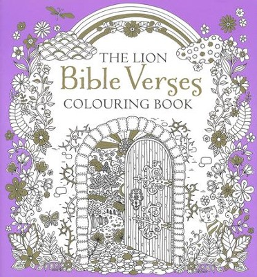 The Lion Bible Verses Colouring Book  -     By: Antonia Jackson