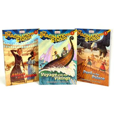 Adventures in Odyssey The Imagination Station ® - Volumes 1 - 3  -     By: Paul McCusker, Marianne Hering