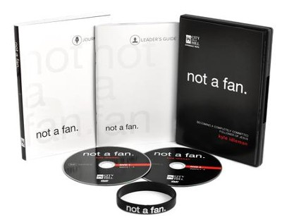Not a Fan: Small-Group Study Kit DVD   -     By: Kyle Idleman
