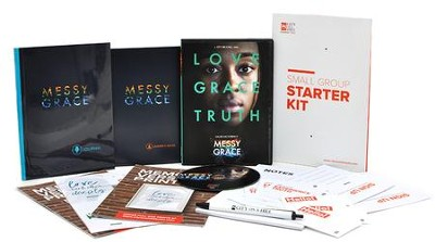 Messy Grace DVD Small Group Study Kit  -     By: Caleb Kaltenbach