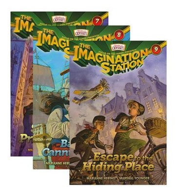 Adventures in Odyssey The Imagination Station ® - Volumes 7 - 9  -     By: Marianne Hering, Marshal Younger, Wayne Thomas Batson