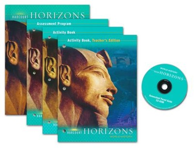 Harcourt Horizons Grade 6 Homeschool Package with Parent Guide CD-ROM  -