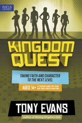 Kingdom Quest: Strategy Guide for Ages 14 & Up: Taking Faith and Character to the Next Level  -     By: Tony Evans