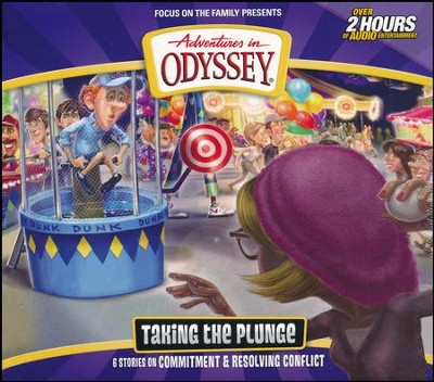 Adventures in Odyssey #59: Taking the Plunge (6 Episodes on 2 CDs)  -