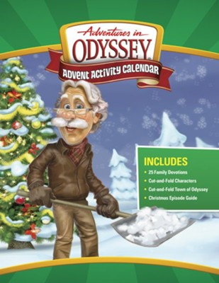 Adventures in Odyssey Advent Activity Calendar  -