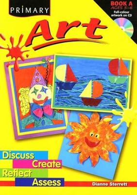 Primary Art Book Ages 5-6  -