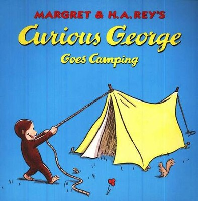 Curious George Goes Camping Softcover  -     By: H.A. Rey