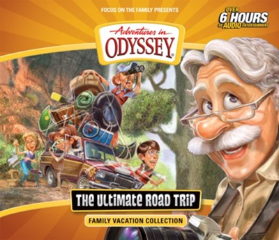 Adventures in Odyssey The Ultimate Road Trip--CDs  -