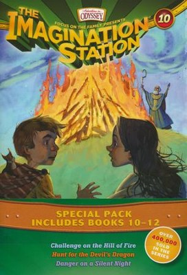 Adventures in Odyssey: The Imagination Station Series, Volumes 10-12  -     By: Marianne Hering, Marshal Younger, Wayne Thomas Batson