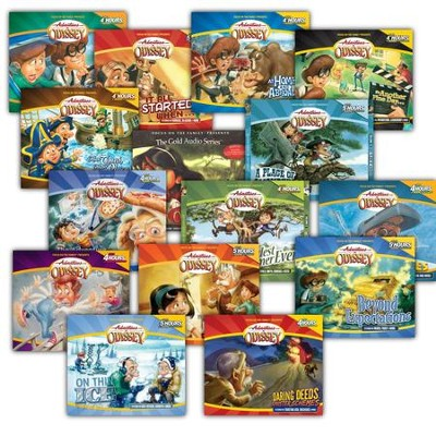Adventures in Odyssey ® Audio Pack #1 (#1-15)  -