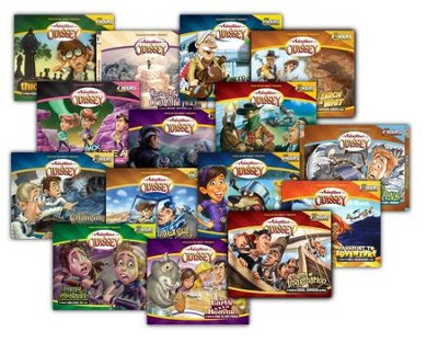 Adventures in Odyssey ® Audio Pack #2 (#16-30)  -