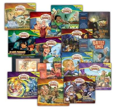 Adventures in Odyssey ® Audio Pack #3 (#31-45)  -