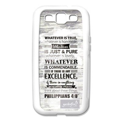 Whatever Is True, Galaxy S3 Case  -