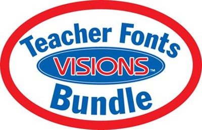 Teacher Font Visions Bundle (1 CD-Rom & 3 Books)   -     By: Mountain Lake