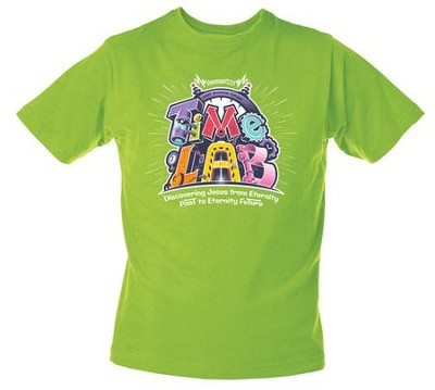Time Lab: Theme Adult T-Shirt, Large  -