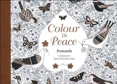 Colour in Peace: Postcards  -     By: James Newman Gray