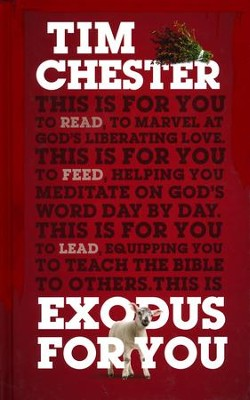 Exodus For You  -     By: Tim Chester