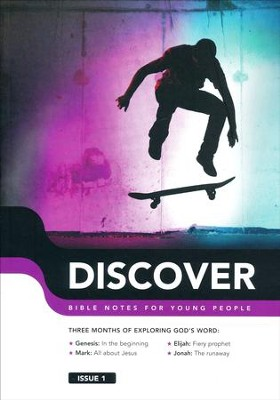 Discover: Book 1, Bible Notes for Young People   -     By: Martin Cole