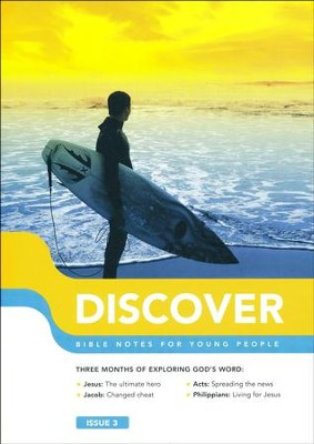 Discover: Book 3, Bible Notes for Young People   -     By: Martin Cole