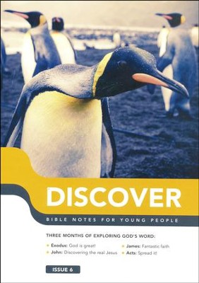 Discover: Book 6, Bible Notes for Young People  -     By: Martin Cole