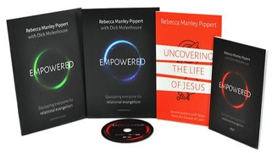 Empowered DVD Leader's Kit: Equipping Everyone for  Relational Evangelism  -     By: Rebecca Manley Pippert