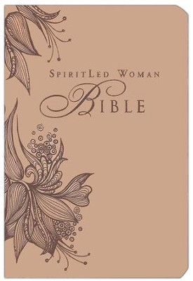 MEV SpiritLed Woman Bible--soft leather-look, rose tan   -