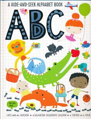 Hide and Seek ABC  -     By: Thomas Nelson
