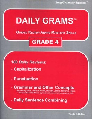 Daily Grams Grade 4   -     By: Wanda Phillips