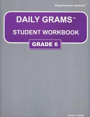 Daily Grams Grade 6 Workbook   -     By: Wanda Phillips