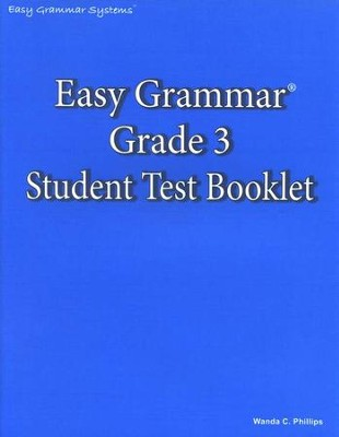 Easy Grammar Grade 3 Test Book   -     By: Wanda Phillips