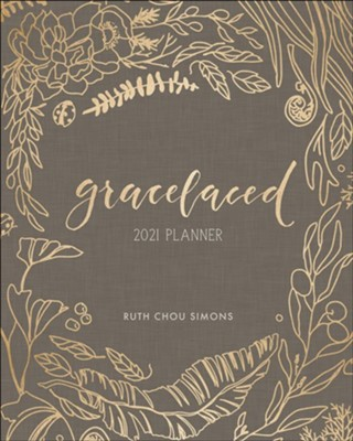 2021 GraceLaced 12-Month Planner  -     By: Ruth Chou Simons