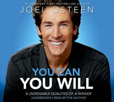 You Can, You Will: 8 Qualities of a Winner, Unabridged  Audio, 2 CDs  -     By: Joel Osteen