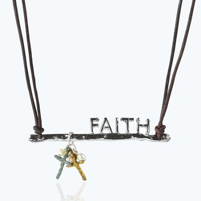 Faith Necklace  -